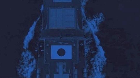 韓国ドラマ『ザ・キング:永遠の君主』に登場した該当の軍艦。