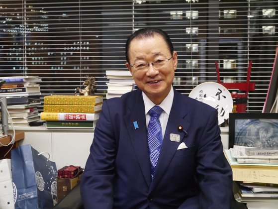 日韓議員連盟の河村建夫幹事長