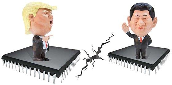 半導体をめぐり米国と中国が再び正面衝突を繰り広げている。