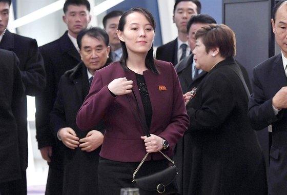 金与正労働党中央委第1副部長。