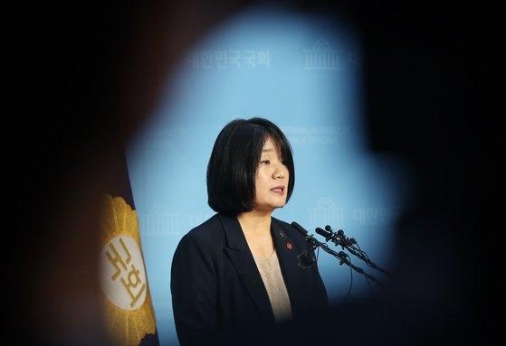 韓国与党「共に民主党」の尹美香(ユン・ミヒャン)議員