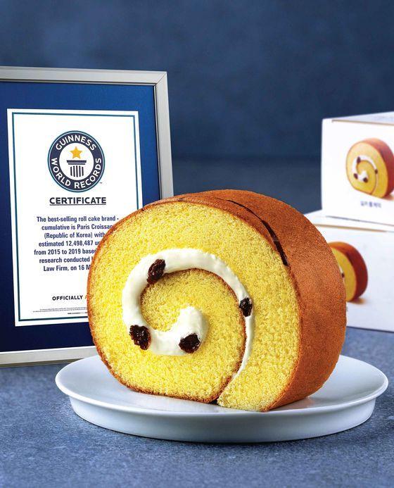 パリバゲットのシルキーロールケーキ。[写真 SPC]