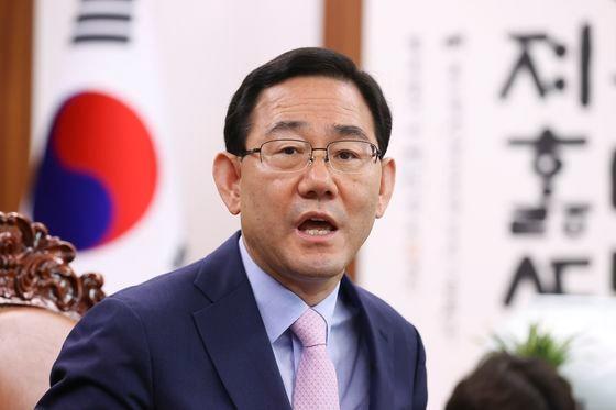 未来統合党の朱豪英(チュ・ホヨン)院内代表