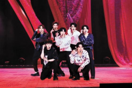 先月14日にオンライン生中継されたBANG BANG CON the live[写真 BigHitエンターテインメント]