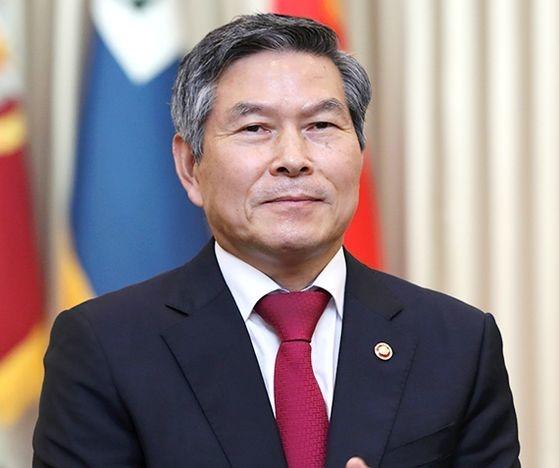 韓国国防部の鄭景斗(チョン・ギョンドゥ)長官。
