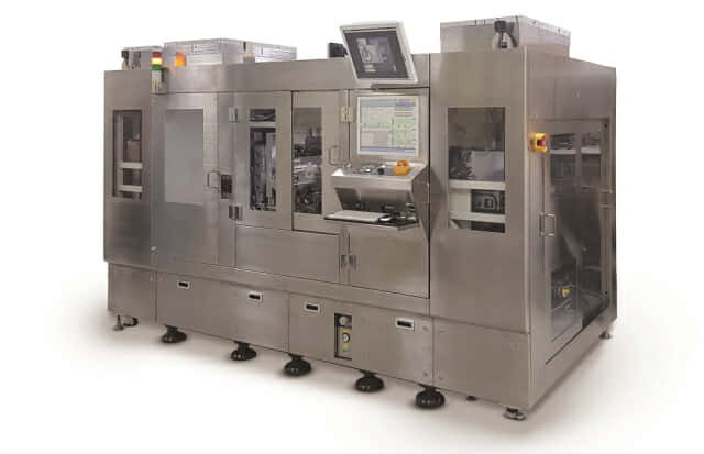 ハンファ精密機械とSKハイニックスが共同開発した「ダイボンダ」のイメージ。(写真 ハンファ精密機械)