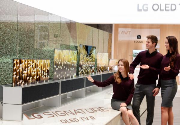 LGのローラブルテレビ