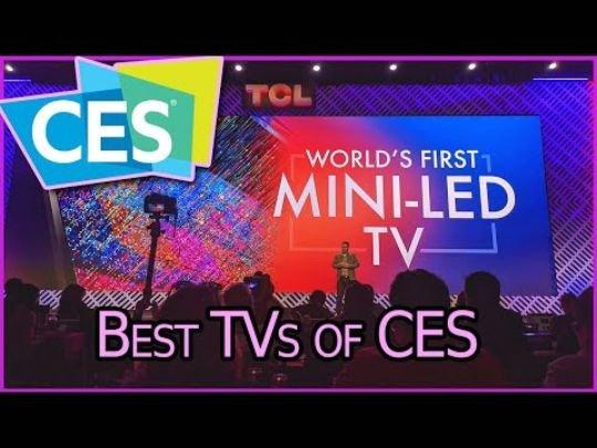 中国企業のTCLが年初に出した「ミニLEDテレビ」。CES2020で最高テレビ賞を受賞した。[写真 全米消費者技術協会]