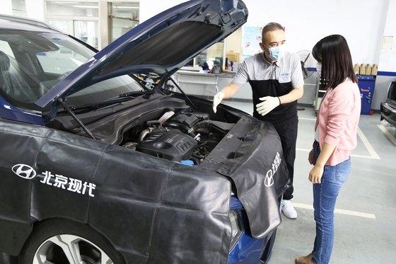 中国の「自動車顧客満足度調査(CACSI)」で整備サービス満足度1位を占めた現代車の中国合資法人「北京現代」