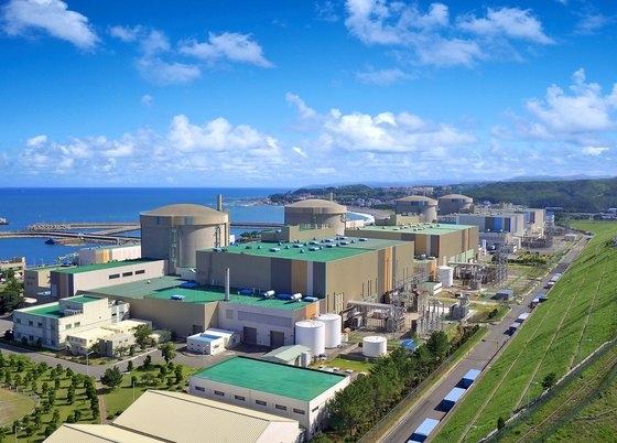 韓国の月城(ウォルソン)原子力発電所