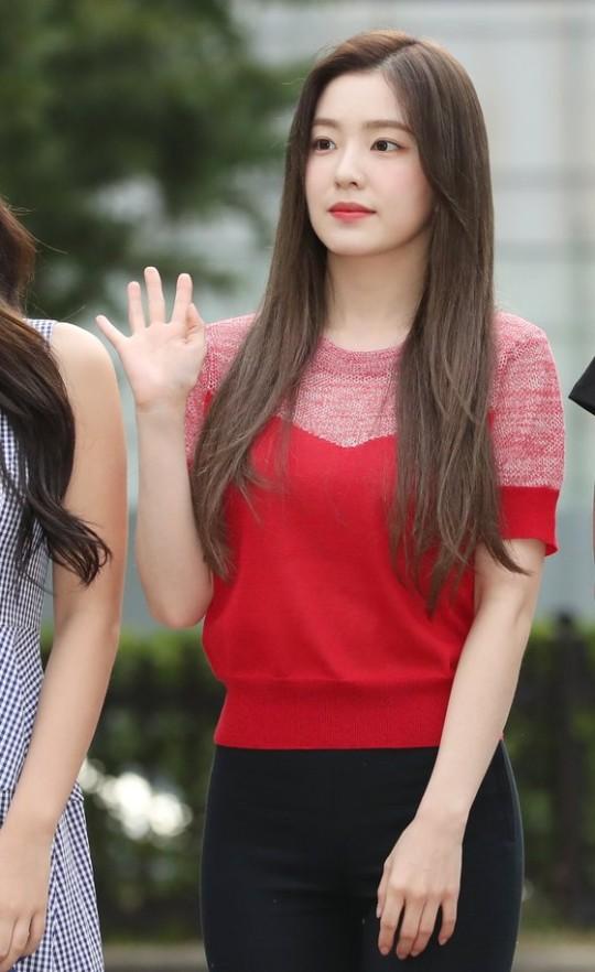 Red Velvetのアイリーン[写真 韓国ニッカンスポーツ]