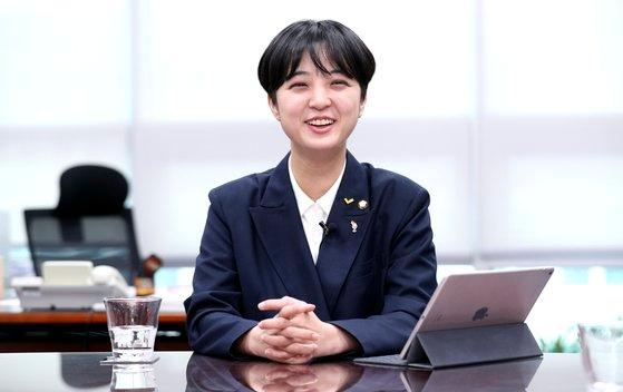 正義党の柳好貞(リュ・ホジョン)議員