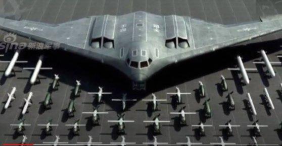 中国次世代ステルス爆撃機