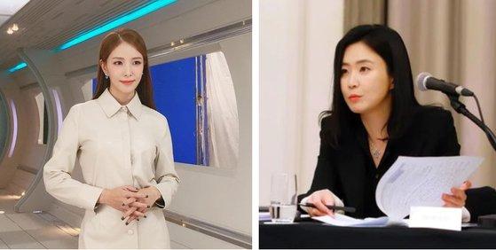 歌手BoA(左)、元智愛(ウォン・ジエ)ソウル中央地検強力部長 [写真=インスタグラム、最高検察庁]