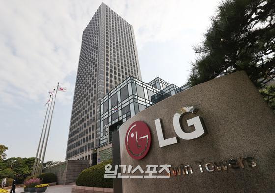 LGエネルギーソリューション本社があるソウル・汝矣島のLGツインタワー。