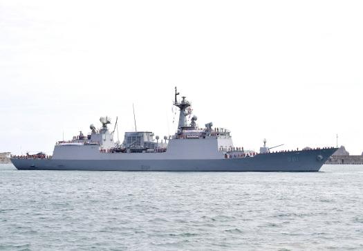 『崔瑩(チェ・ヤン)』[写真 韓国海軍提供]