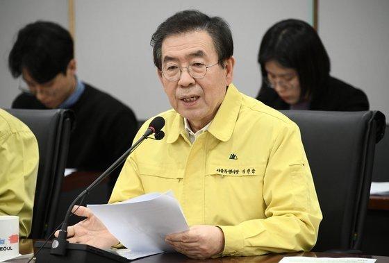 朴元淳(パク・ウォンスン)前ソウル市長