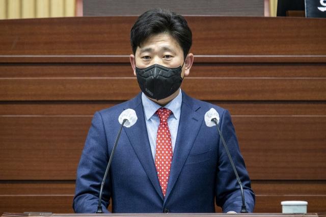 慶北道のパク・ヨンソン議員。[写真 慶北道議会]
