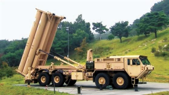 2020年5月、慶尚北道星州郡(ソンジュグン)THAAD基地に追加で配備されたTHAAD発射台。 [写真=国防部映像共同取材団提供]