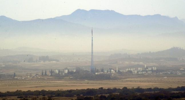 北朝鮮の機井洞(キジョンドン) 国会写真記者団