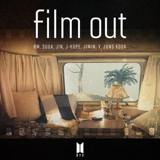 BTSのシングル『Film out』[写真 Big Hit]