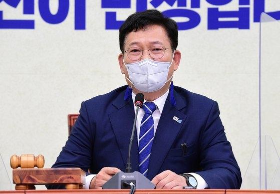 韓国与党「共に民主党」の宋永吉(ソン・ヨンギル)代表
