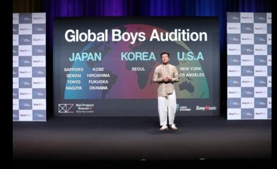 パク・ジニョン(J.Y.Park)氏。[写真 JYPエンターテインメント、ソニーミュージックエンターテインメント]