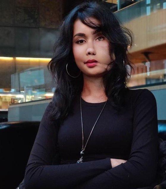 アフガニスタン出身の女性人権活動家シャキラ・ザレーン(Shakila Zareen)さん。[写真 ザレーンさんのインスタグラム キャプチャー]