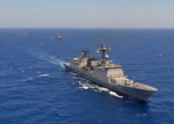 韓国海軍駆逐艦「文武大王」
