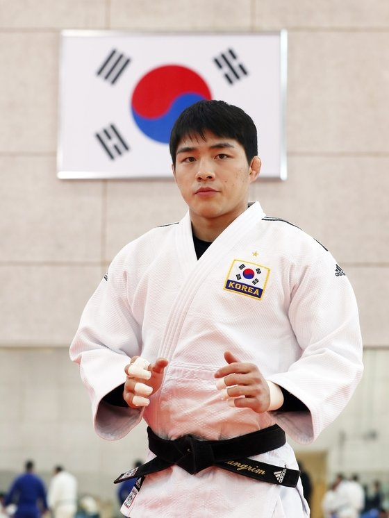 柔道73キロ級の安昌林(アン・チャンリム) ビョン・ソング記者