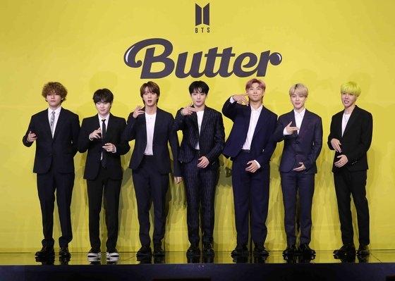 BTSの『Butter』が9回目のビルボード1位を占めた。BTSは10週連続でビルボード1位を占めた。[中央フォト]