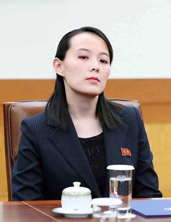 金与正(キム・ヨジョン)労働党副部長
