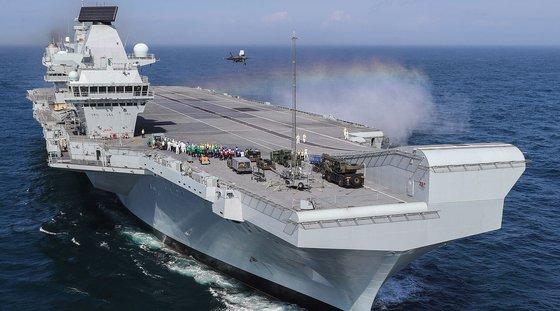 英海軍の空母「クイーン・エリザベス」(CVA-01) [英国海軍]