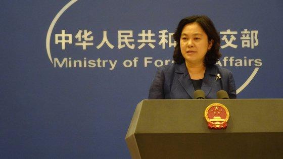 中国外交部の華春瑩報道官が16日の定例会見でアフガニスタン問題に対する中国の立場を明らかにしている。シン・ギョンジン記者