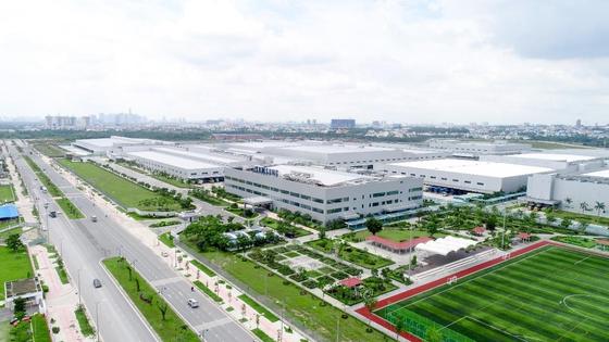 ベトナムにあるサムスン電子ホーチミン家電工場全景。コロナで封鎖が続き工場稼動率は30%水準に落ちた。[写真 サムスン電子]