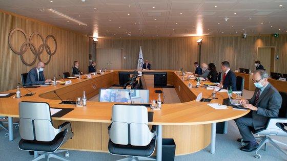 IOCが8日に執行委員会を開き北朝鮮に対する制裁措置を決めた。[写真 IOC]