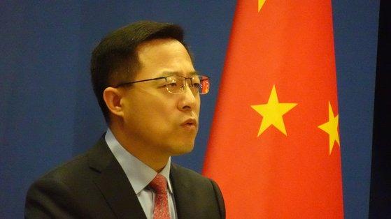 中国外交部の趙立堅報道官