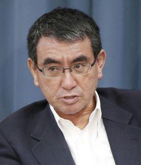 自民党総裁選で現在最も当選の可能性が高いと言われている河野太郎行政改革担当相。