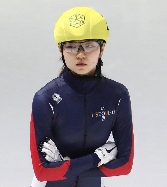 韓国女子ショートトラックの沈錫希(シム・ソクヒ)