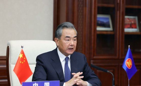 王毅外交部長