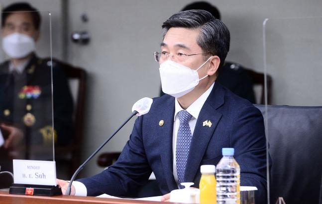 韓国国防部の徐旭(ソ・ウク)長官